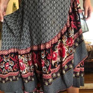 Boho Printed Skirt